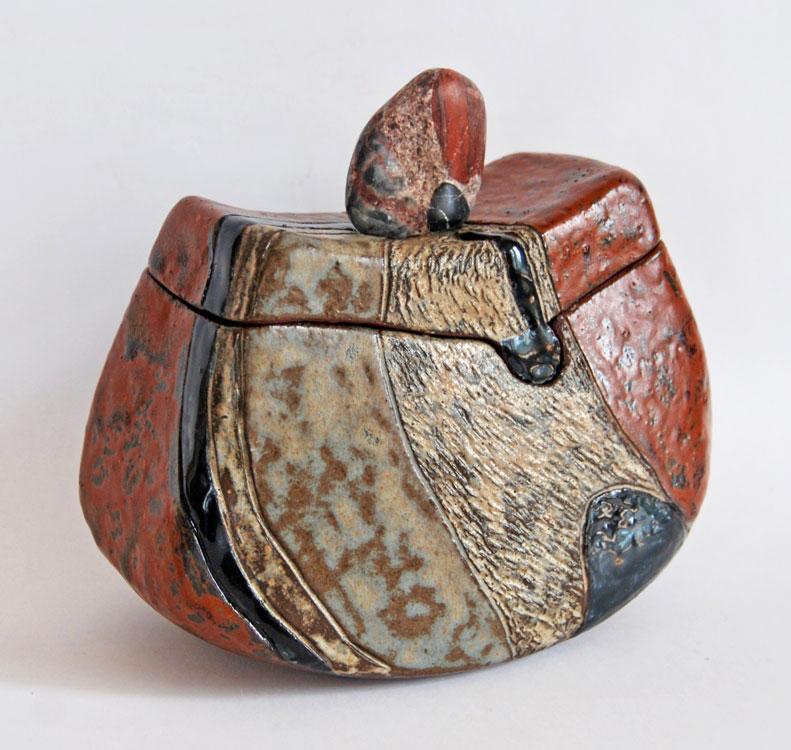 Boîte sculptée Poudingue Palassou