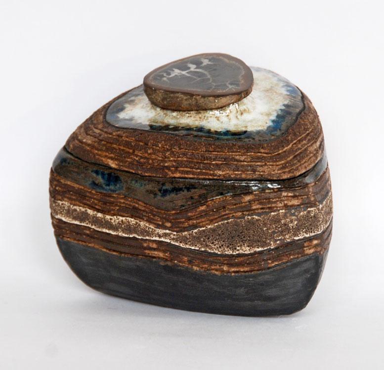 Boîte sculptée Nodule à Septaria