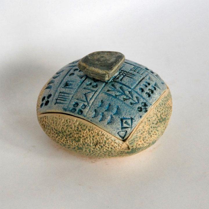 Boîte sumer écriture cunéiforme