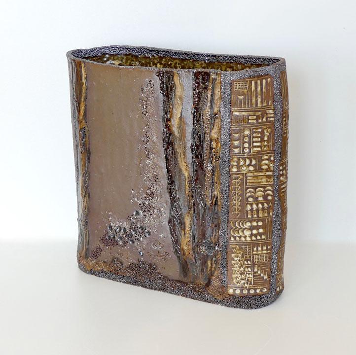 Vase décors sylves