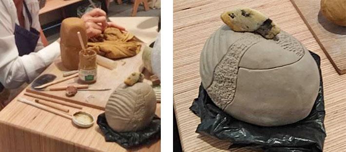 Technique de céramiste la céramique sculptée