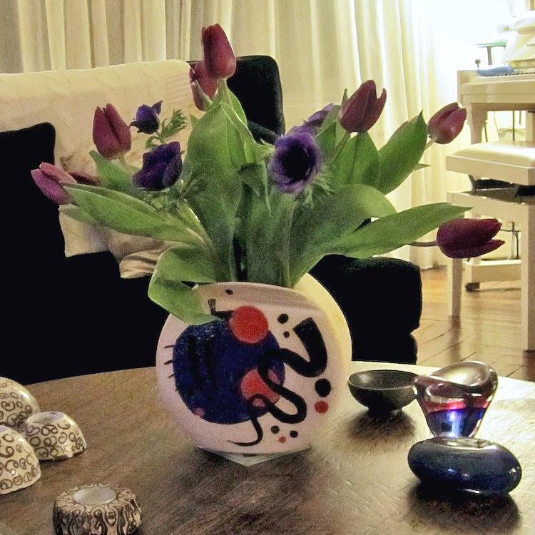 Ambiance vase paysage