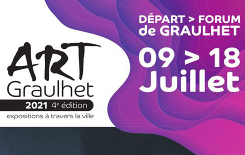 Art Graulhet 2021 expo Claude Agier Mollinari
