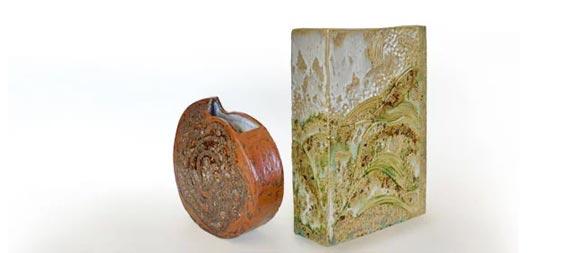 Céramiste collection vases paysage
