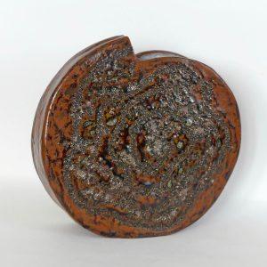 Céramique vase paysage « Ellipse »