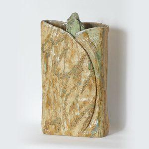 Vase paysage « L'eau verte du LETHE »