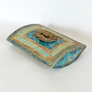 Boîte singulière plate Opale Lussatite