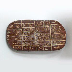 Tablette écritures cunéiformes